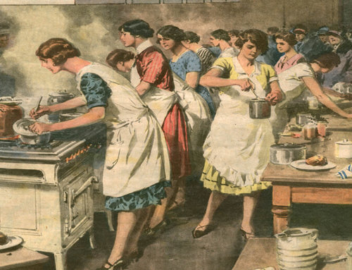 Venerdì 2 marzo, donne in cucina